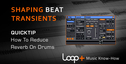 Quicktips shaping beat transients