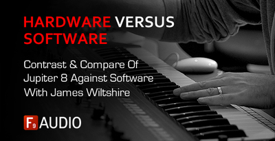 F9audio jupiter8 hardware compared to software examined