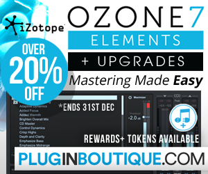 300 x 250 pib izotope ozone7 elements pluginboutique