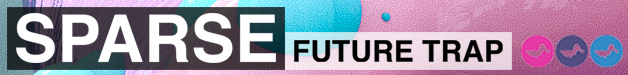 Sparse future trap banner 628 x 75