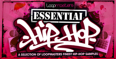 Loopmasters essential hip hop banner 1000 x 512