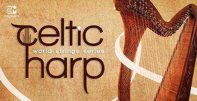 Celtic harp 1000x512