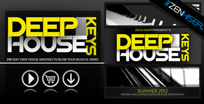 Deep house keys   banner