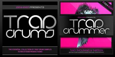 Trap drummer banner