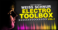 Cover noisefactory weiss schnur electro toolbox vol.1 1000x512
