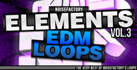 Cover noisefactory elements vol.3 edm loops 1000x512