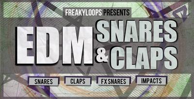 Edm snares   claps 1000x512