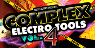 Cover noisefactory complex electro tools vol.4 1000x512