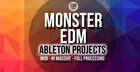Monster EDM Ableton Projects