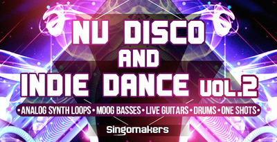 Nu disco and indie dance 1000x512