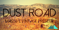 Dust road banner