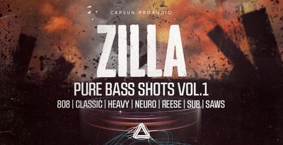 Capsun proaudio zilla pure bass shots vol 1 1000x512