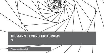 Riemann techno kickdrums 3 loopmasters