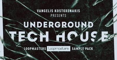 Underground tech house drum   music loops