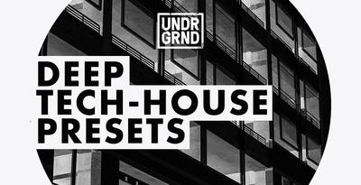 Deep techhouse presets 1000x512